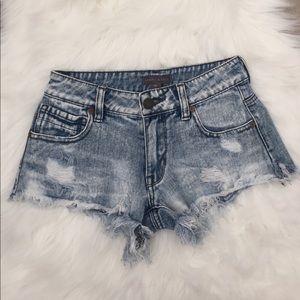 Kendall&Kylie Acid Washed Shorts